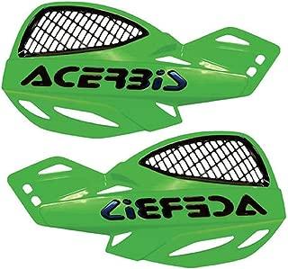 Acerbis Vented Uniko Green Handlebar Hand Guards Fits Honda Kawasaki Suzuki Yamaha Cr80 Cr85 Cr125 Cr250 Cr500 Crf80 Crf100 Crf150 Crf230 Crf250 Crf450 Xr80 Xr100 Xr200 Xr250 Xr350 Xr400 Xr500 Xr600 Xr650 Kx60 Kx65 Kx80 Kx85 Kx100 Kx125 Kx250 Kx500 Kx250f Kx450 Klx110 Klx125 Klx140 Klx250 Klx300 Kdx200 Kdx220 Rm65 Rm80 Rm85 Rm125 Rm250 Rmz250 Rmz450 Dr200 Dr250 Dr350 Drz110 Drz250 Drz400 Yz80 Yz85 Yz125 Yz250 Yz250f Yz450 Yz490 Wr250 Wr450 Ttr90 Ttr110 Ttr125 Ttr230 Ttr250 Yz40 Yz426