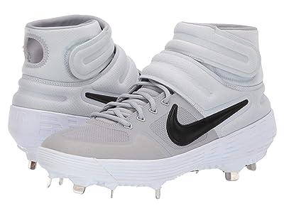 Nike Alpha Huarache Elite 2 Mid (Wolf Grey/Black/Pure Platinum/Anthracite) Men