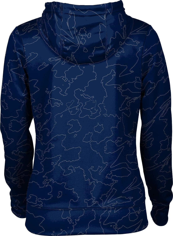 ProSphere Butler University Girls' Pullover Hoodie, School Spirit Sweatshirt (Topography)