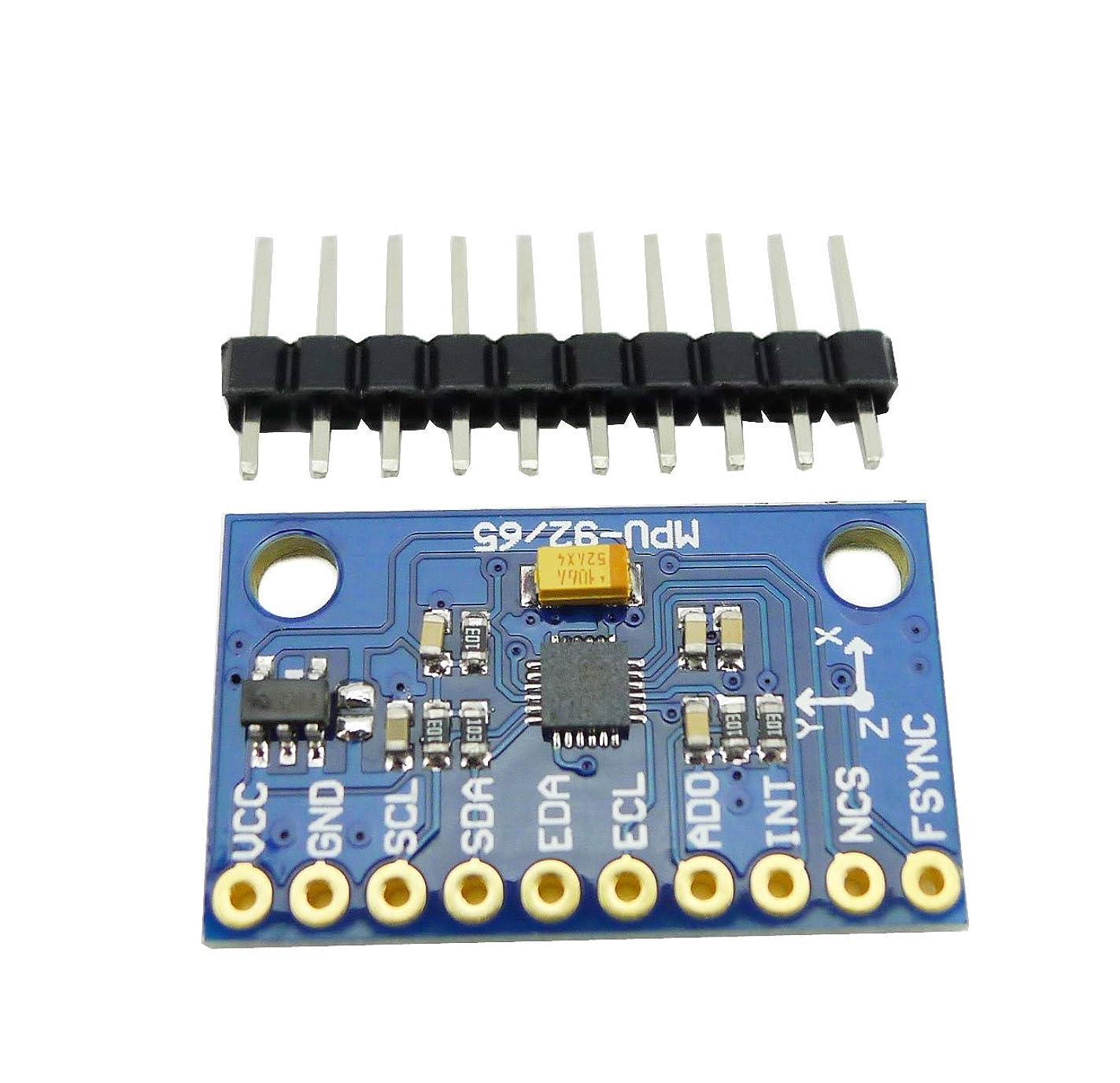 作家以上粉砕するKKHMF MPU-9250 9アクシスセンサーモジュール I2C SPI通信 GY-9250 Arduino用