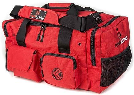 "King Kong Junior Kong Original Nylon Gym Bag - Heavy Duty and Water-Resistant Duffle Bag - Military Spec Nylon- Heavy Duty Steel Buckles - 18"" x 11"" x 11"""