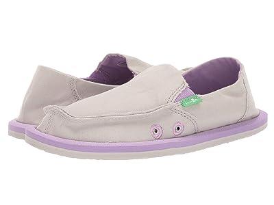 Sanuk Kids Lil Donna (Little Kid/Big Kid) (Wind Chime Lavender) Girls Shoes