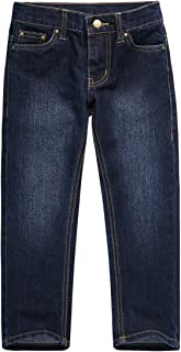 UNACOO Kids Boys Stretch Denim Jeans with Regular Fit and Straight Leg Pant (Age 3-12 Years)