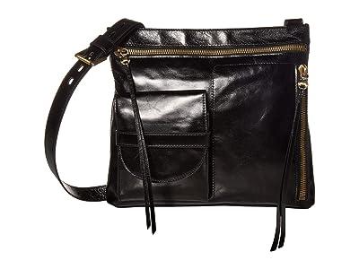 Hobo Crossfire (Black) Handbags