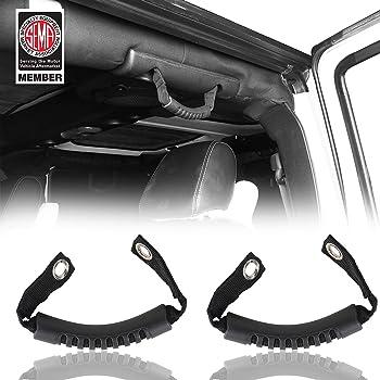 Set of 2 Mopar 82215523 2018 Jeep Wrangler Front Grab Handles