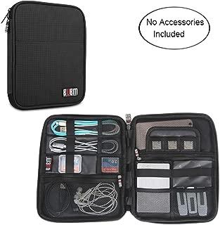 BUBM Travel Organizer for Electronics Accessories, Black