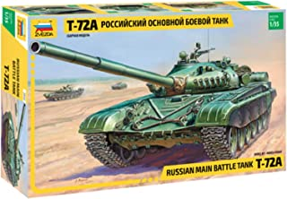 Zvezda Models T-72A Soviet Main Battle Tank
