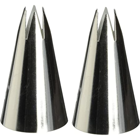 1M Open Star Piping Tip(2pk)