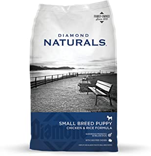 Diamond Naturals Dry Food for Puppy, Small Breed Puppy Formula, 6 Pound Bag by Diamond Pet Foods