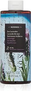korres shower gel lavender