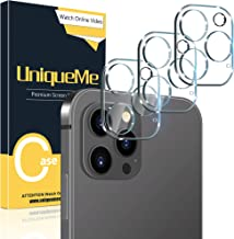 [3 Pack] UniqueMe Camera Lens Protector Compatible with...