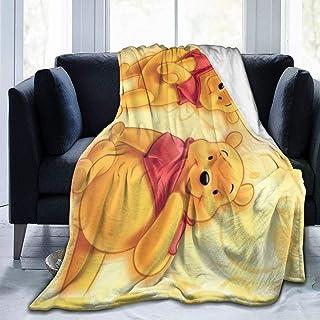 Dessin anim/é Winnie lourson Couverture de Sommeil occultant Couverture des Yeux Respirante d/écor du Visage Couverture des Yeux Super-Douce et Confortable pour Dormir