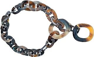 Womens Chunky Handmade Buffalo Horn Fashion Long Chain Necklaces
