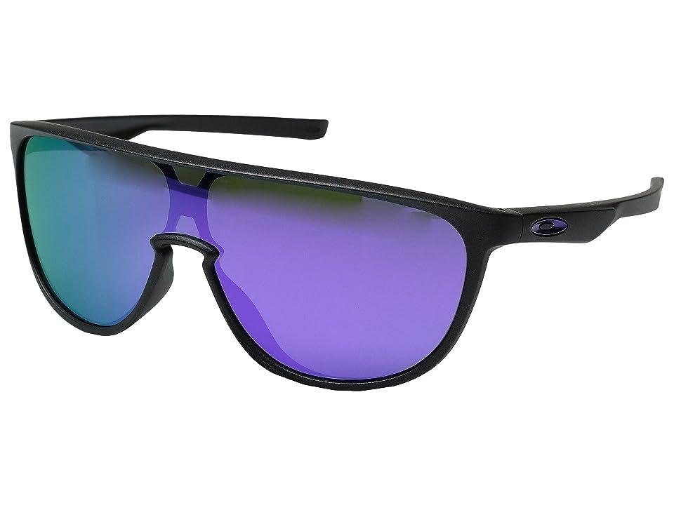 Oakley Trillbe (Steel/Violet Iridium) Fashion Sunglasses