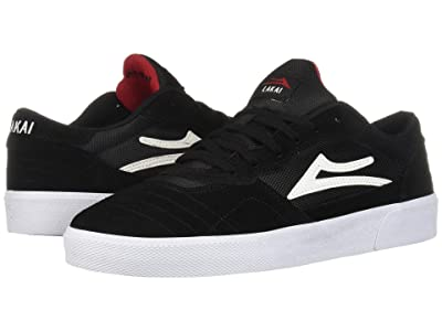 Lakai Cambridge (Black/White Suede) Men