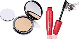 Faces Canada Weightless Stay Matte Compact Vitamin E & Shea Butter, Spf-20 Ivory 01, 9 g and Faces Canada Magneteyes Drama...