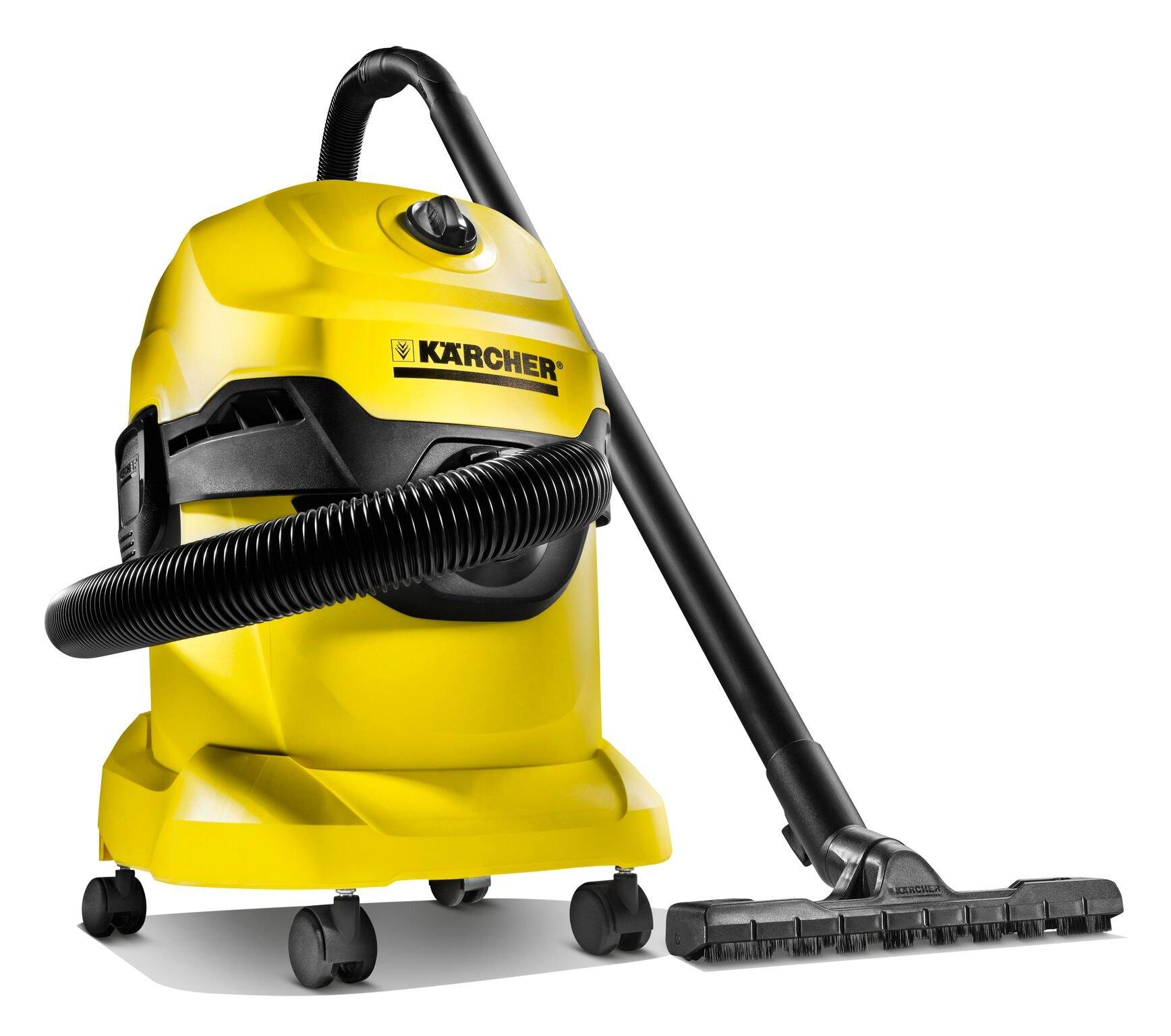 Kärcher WD 4 Aspiradora , 20L, 1000 W, Amarillo: Amazon.es: Hogar