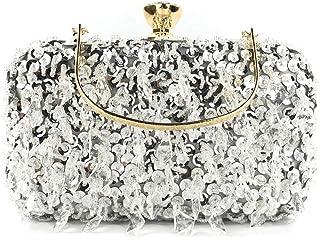 Women Sequin Decoration Clutches Evening Chain Crossbody Bags Party Handbag Fashion Womens Bags