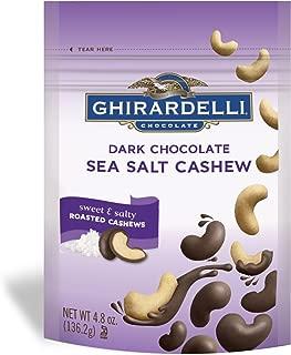 Ghirardelli Dark Chocolate, Sea Salt Cashew, 4.8 Ounce
