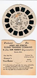 DB-3F Russian Aircraft Airplane 1942 World WAR 2 Army AIR Forces Flying Training Command View-Master Viewmaster Reel