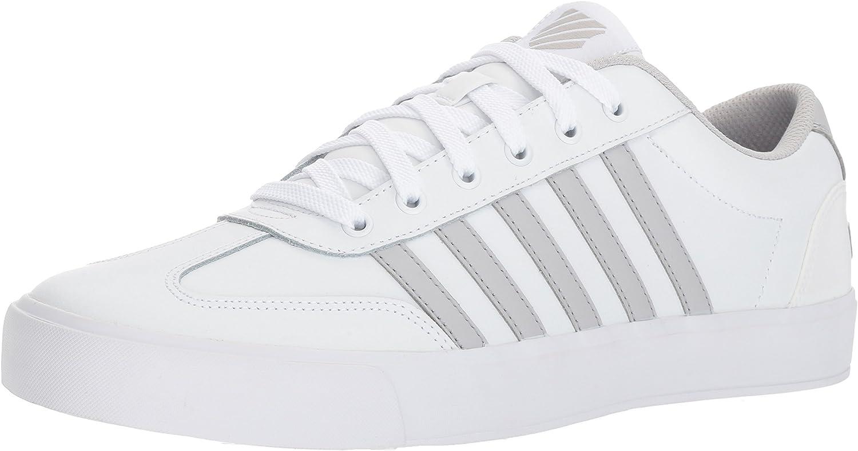 K-Swiss Mens Addison Vulc Leather Sneaker