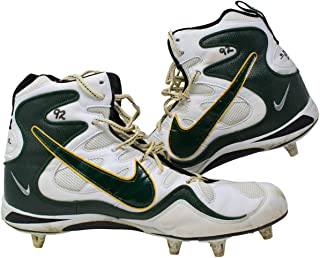 Reggie White Green Bay Packers Game Used Cleats Sept 14th 1997 Vs Miami Dolphins