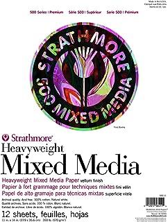 Strathmore (584-11 500 Series Heavyweight Mixed Media, 11