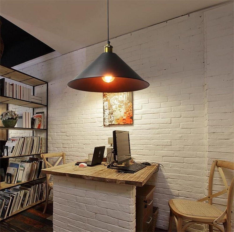 HAIZHEN Pendelleuchten Rural amerikanischen minimalistischen kreative Persnlichkeit Büro Restaurant Bar Shop einzigen Aluminiumkegelkopf-Kronleuchter kreativer Stil