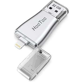 HooToo USB Flash Drive for iPhone, USB 3.0 photostick for iPad and iPhone with MFi Certificated Connector