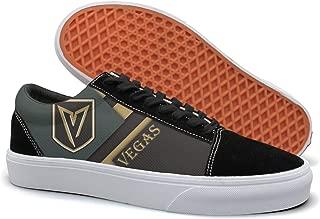 Designsonic Vegas Hockey Victory Arch Logo Man Skate Shoe Athletic Trainers Low Top