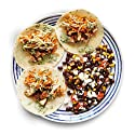 Amazon Meal Kits, Spiced Chicken Tacos with Queso Fresco, Black Beans & Cilantro Crema, Serves 2