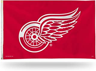 NHL 3-Foot by 5-Foot Single Sided Banner Flag with Grommets