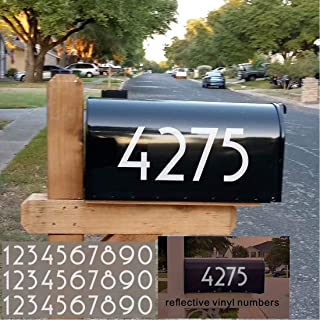 House Number Door Sticker Race Number Number Number Numbers Letter Box 115