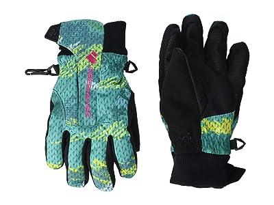 Obermeyer Kids Thumbs Up Gloves Print (Little Kids/Big Kids) (Scribble Knit) Extreme Cold Weather Gloves