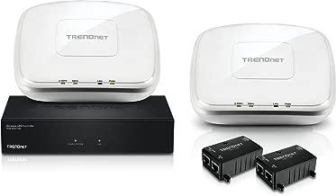 TRENDnet AC1200 Dual Band Wireless Hardware Controller Kit with Seamless Wi-Fi Roaming, TEW-821DAP2KAC