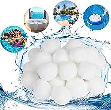 ALAKAYA Bolas de filtro de 500 g – Bolas de filtro para usar en el sistema de filtro de arena de la piscina, bomba de filtro, filtro de arena de acuario, gran efecto de limpieza y muy económico.