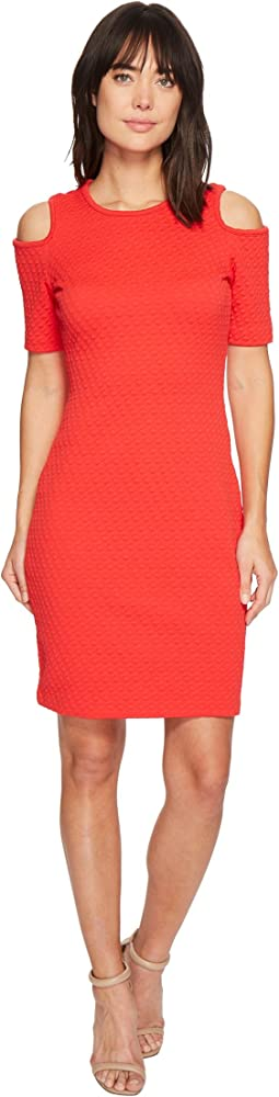 MICHAEL Michael Kors - Mini Cube Cold Shoulder Dress
