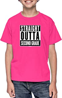 HAASE UNLIMITED Straight Outta Second Grade - Elementary Youth T-Shirt