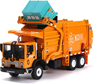 FUBARBAR Garbage Truck Toy Model 1:43 Scale Metal Diecast Recycling Truck Boys Garbage Truck Clean Trash Waste Transport Truck Alloy Model Car Toy Recycling for Kids Birthday Party Supplies