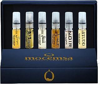 Mocemsa Perfume Gift Set, Trial Set for Men Luxury Perfume Scent with Long Lasting Fragrance, 36ml
