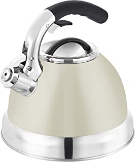 Tower T80842C Whistling Kettle, Cream