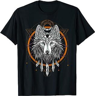 Loup Dreamcatcher Native American Dream Catcher T-Shirt