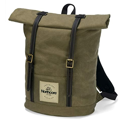 7b57c041eeee Waxed Canvas Backpack  Amazon.co.uk