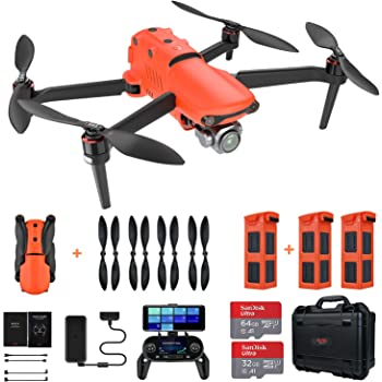 Autel Robotics EVO II Pro Drone with 6K HDR Video Rugged Bundle (2020 Newest)