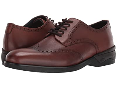 Johnston & Murphy Waterproof XC4(r) Elkins Casual Wing Tip Oxford (Tan Leather) Men