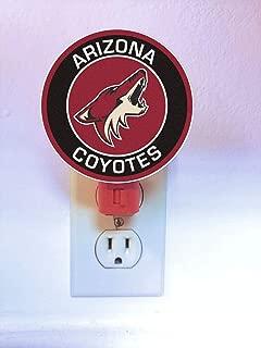 Arizona Yotes Night Light : LED Plastic Plug-In Nightlight/Lamp