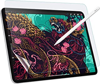 """Like Paper Screen Protector Replacement for iPad Pro 12.9"""" 2018/2020, [Anti-Scratch] [Anti-Glare] Same Like Writing On Pap..."""