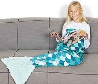 Kanguru Mermaid Tail Blanket Gifts for Girl 5 6 7 8 9 10...