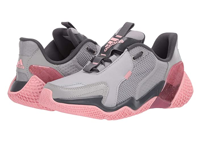 adidas Kids  4uture Rnr (Big Kid) (Grey/Glory Pink) Girls Shoes