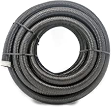 2RZ 16Ft(5M) 8AN Universal Braided Oil Fuel Line Hose Stainless Steel Nylon for 1/2